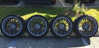 """BMW 18"""" FORGED BBS M3 wheels (Style 219M) with New TIRES"""