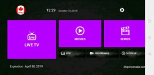 # IPT - Live Channels Android Boxes fire stick Sports UFC store