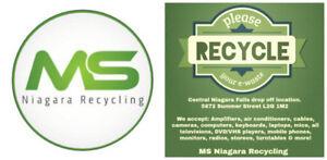Free E-waste collection (Niagara Falls L2G 1M2)