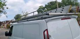 Transit custom roof rack