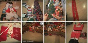 Lot de décoration de Noel de Paques de St-Valentin pour garderie