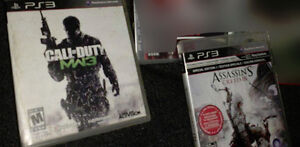Modern Warfare 3 and Assassins Creed 3 for sale