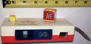 VINTAGE 1974 FISHER PRICE POCKET CAMERA 464 - Zoo Animals - Work