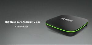 TV Box R69 Quad-core Android