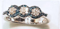 Sterling Silver Diamond (0.36ct) Ring For Sale by Online Auction