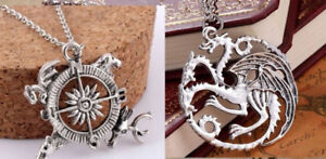 Game of Thrones Khaleesi DRAGON & COMPASS Necklaces >Both for $4