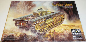 AFV Club 1/35 Churchill AVRE with Snake Launcher