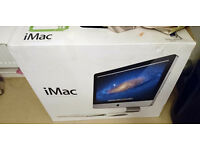 """iMac 21.5"""" i5 4Gb ram 500GB HDD. £450 ono"""