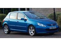 60+MPG Peugeot 307 2.0 Hdi 2004 XSi **DIESEL 136BHP** ( Only 91k FSH)