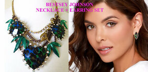 BRAND NEW Betsey Johnson Asian Jungle Necklace + Leopard Earring Kitchener / Waterloo Kitchener Area image 1