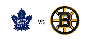 Toronto Maple Leafs Tickets vs Boston Bruins - January 12