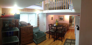 Perfect furnished bachelor for rent in james bay