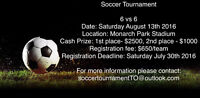 Soccer Cash Tournament