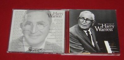 THE SONGS OF HARRY WARREN MUSIC PUBLISHING 2 PICTURE DISC -