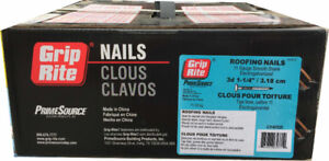 """Grip-Rite 3d 1-1/4"""" Roofing Nails for $19.99 (6030 50 Street)"""