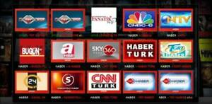 TURKISH LIVE TV, DIZI, MOVIES TV SHOWS ATV TRT SETTOP BOX
