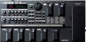 Pédalier multi effet Boss GT-8 pour guitare électrique