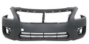 New Painted 2013 2014 2015 Nissan Altima Front Bumper