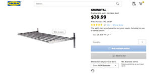 Brand New Grundtal Clothes Drying Rack