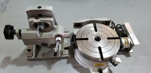 CNC 4th axis Rotary Table Horizontal / Vertical 8 inch With Tailstock!