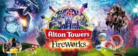 Alton Towets Firework tickets