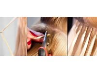 Kimberley's kreation's qualified hair extensions technician