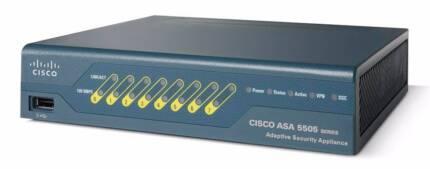 Cisco ASA 5505 Firewall with VPN Near Brand New condition Granville Parramatta Area Preview