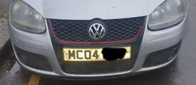 VW Golf Mk5 GTDI Front Bumper And Grille Silver 2004