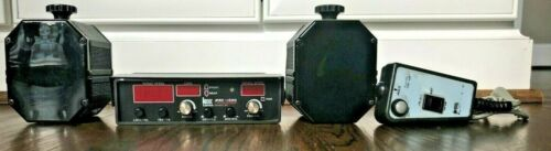 Kustom Signals Pro 1000 DS K Band Police Radar 2 Antennas Remote