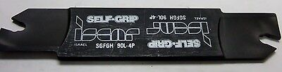 Iscar Sgfgh 90l - 4p Self Grip Tool Holder Carbide Inserts Grooving Cut-off New