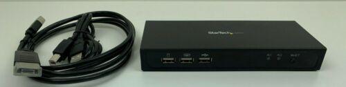 StarTech | SV231MDPU2 | 2 Port Mini DisplayPort KVM Switch USB Hub w/ KVM Cables