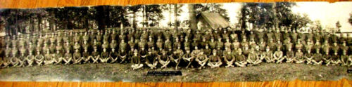 WORLD WAR ONE CHATTANOOGA TENNESSEE  PANORAMA PHOTO CAMP FORREST