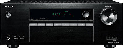 Onkyo - 700W 5.1-Ch. 4K Ultra HD and 3D Pass-Through A/V Home Theater Receive...