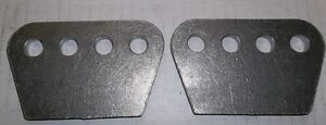 """1/4"""" THICK H/D 4 HOLE MOUNTING PLATE, SHOCKS, TRAC ARMS, 4 LINK, Belleville Belleville Area image 5"""