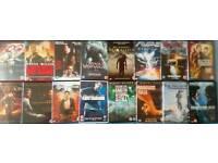 DVDs 0.50p each