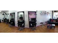 Chair To Rent in a friendly, modern, busy Salon. Must have own clientle £150 pw