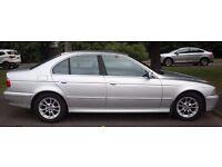 2002 BMW 525i SE Automatic, Tiptronic, Leather, Alloys, Executive Saloon FSH Short Mot Bargain..