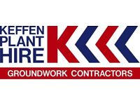 Digger Driver / Experience Groundworkers Needed