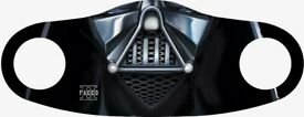 Star Wars Reusable Adults Washable Full Mouth And Face Cover mask