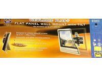 BTECH FLAT PANAL WALL MOUNT - BLACK