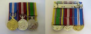 QUEENS-GOLDEN-JUBILEE-DIAMOND-JUBILEE-CADET-FORCES-MINI-MEDALS-COURT-MOUNTED