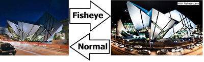 Hi Def Super Fisheye Lens For Samsung NX2000 NX1000 For 20-50mm Or 16mm Lens  - $24.95