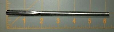7.5 Mm Chucking Reamer Straight Flute .2953 Li 6 Flute  533 New