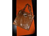 brown ladies handbag