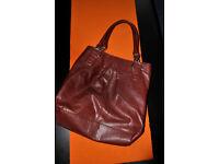 H&M brown ladies handbag in excellent condition