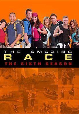 THE AMAZING RACE -  SEASON 6 - Region 1 DVD - Sealed