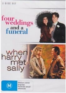 Four Weddings and a Funeral+When Harry Met Sally = New DVD R4