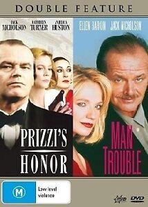 Prizzi's Honor  / Man Trouble (DVD) Jack Nicholson. Excellent Cond. Australian,