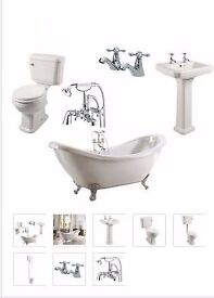 traditional double ended bath suite from as low as £649