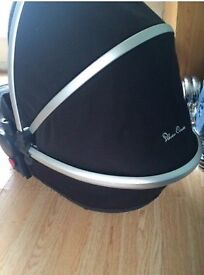 Silver cross surf Pram with carrycot full set